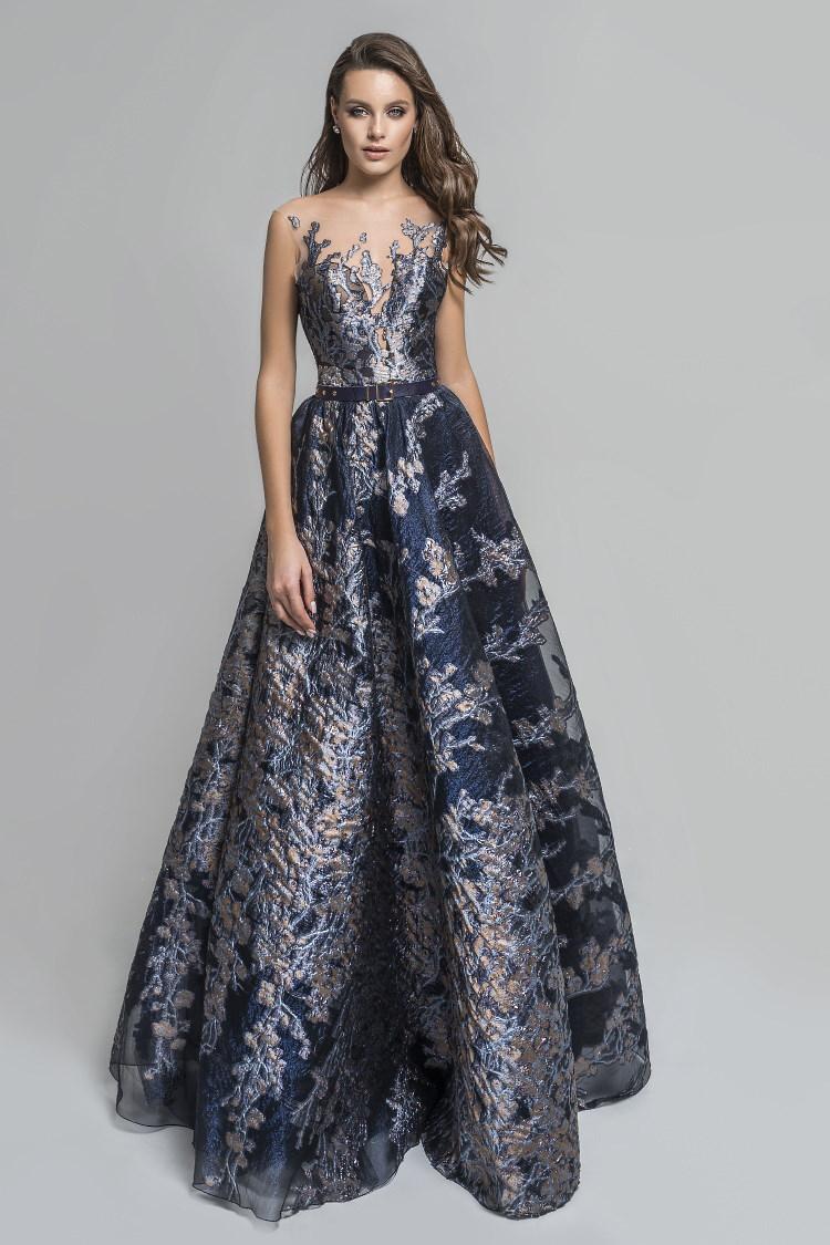 robe de soiree en damasse