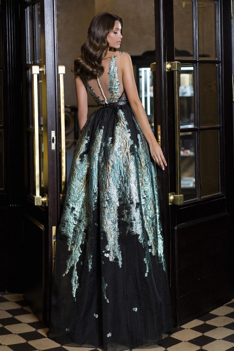 robe de soiree moiree