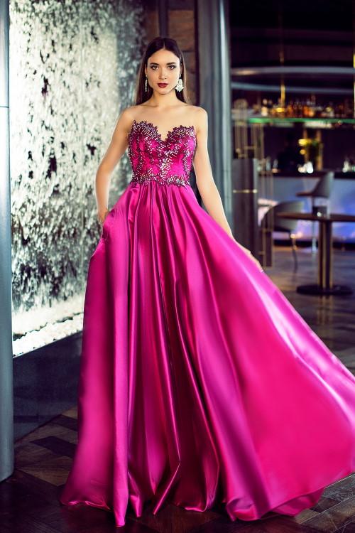 Robe de soirée glamour