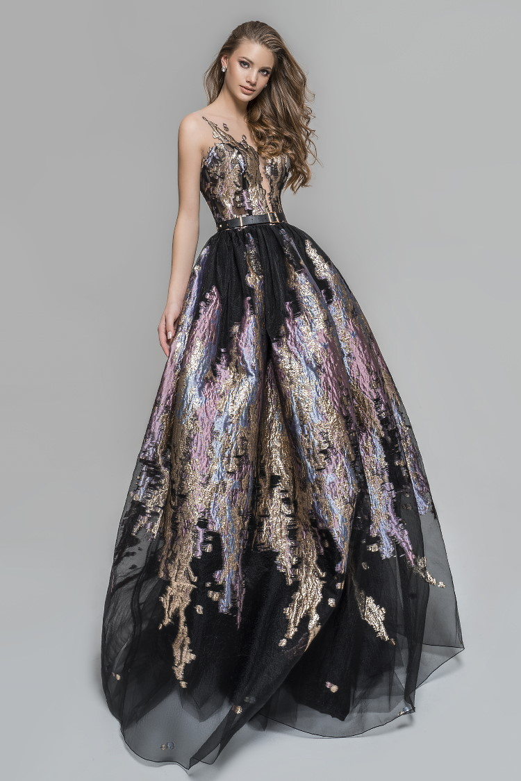 robe habillee sur mesure paris - ceremonie soiree gala mariage