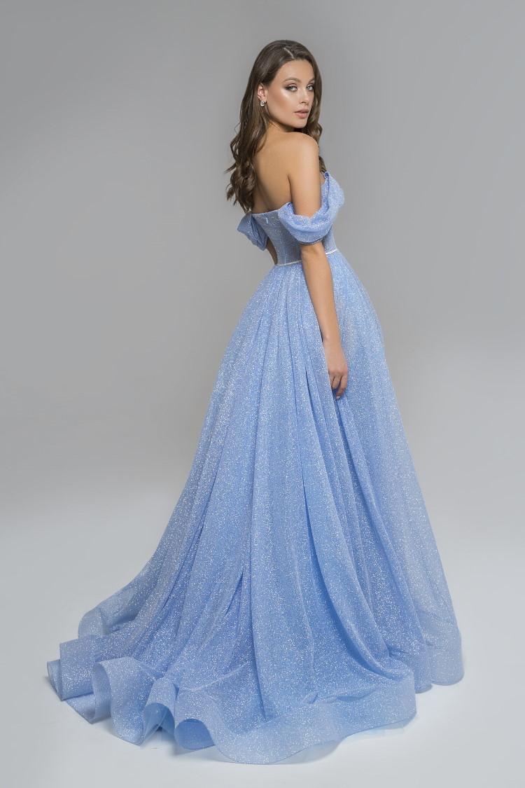 robe pailletee couleur lavande - soiree ceremonie mariage gala