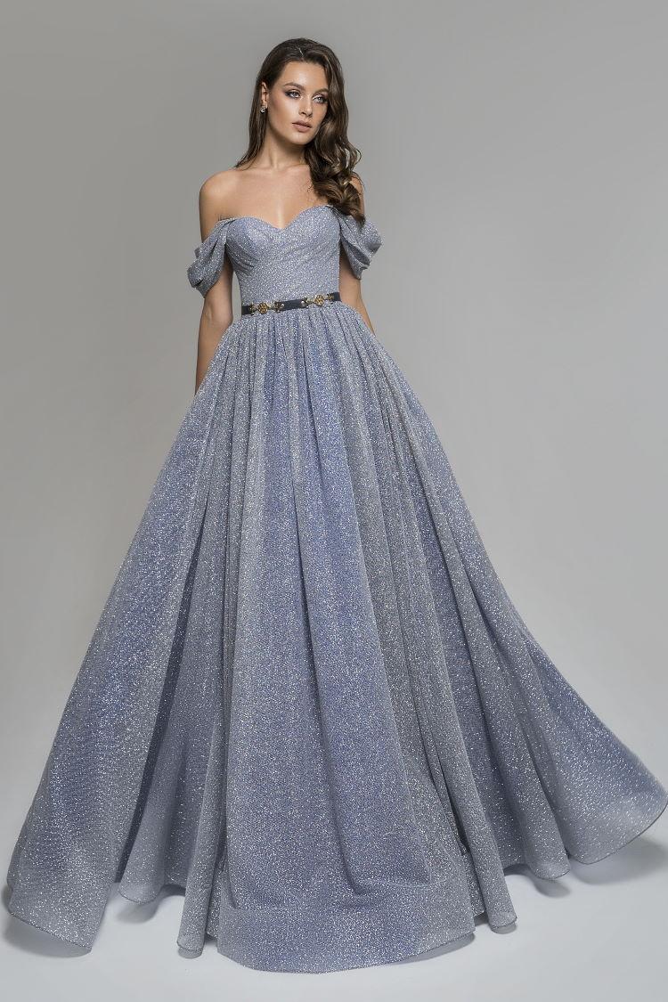 robe scintillante pailletee - ceremonie soiree mariage gala