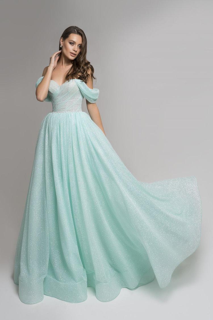 robe vert d eau - soiree gala mariage ceremonie