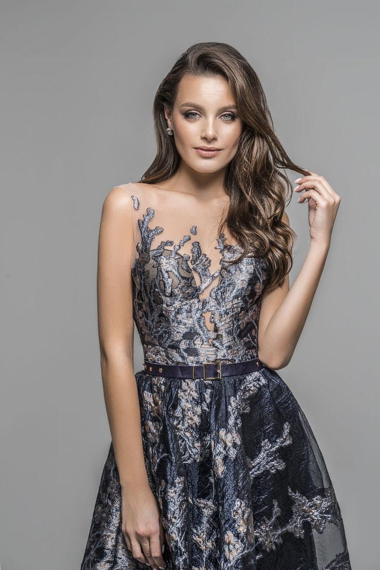 tissu damasse robe sur mesure