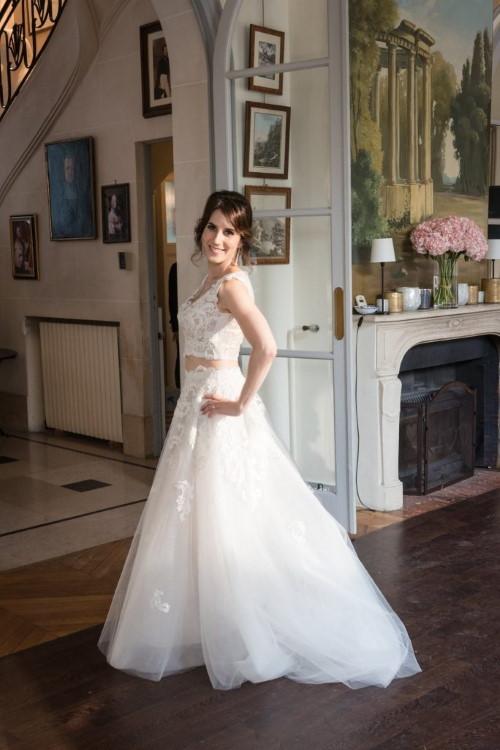 Mariage aux jardins de bagatelle