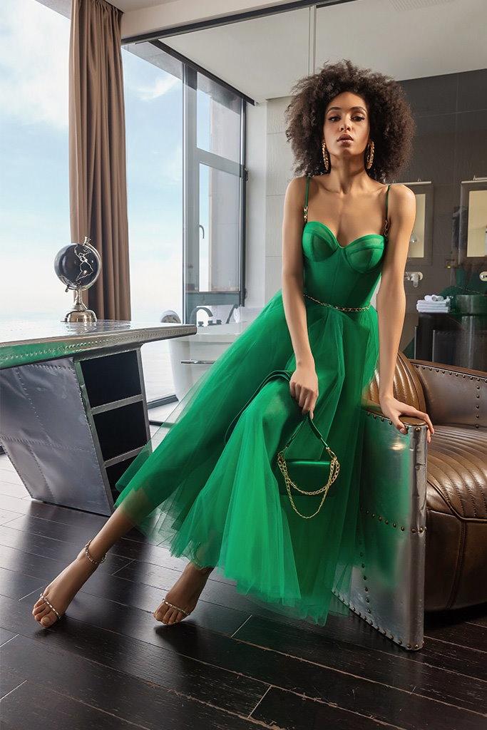 robe couleur menthe