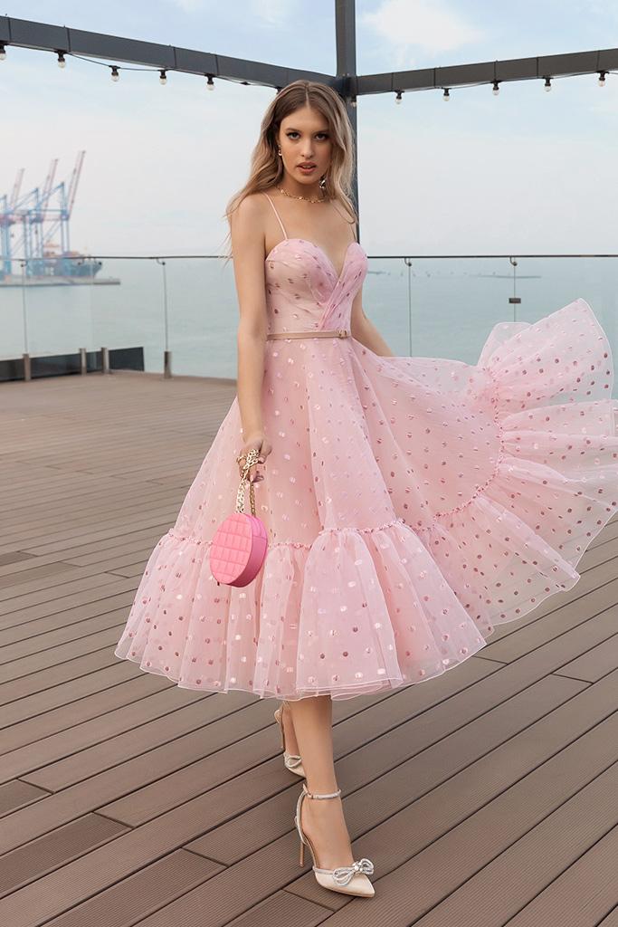 robe de demoiselle d honneur rose