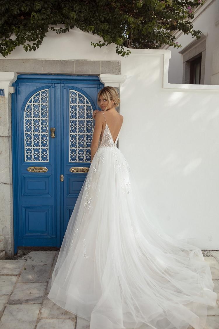 robe de mariee de luxe dos nu