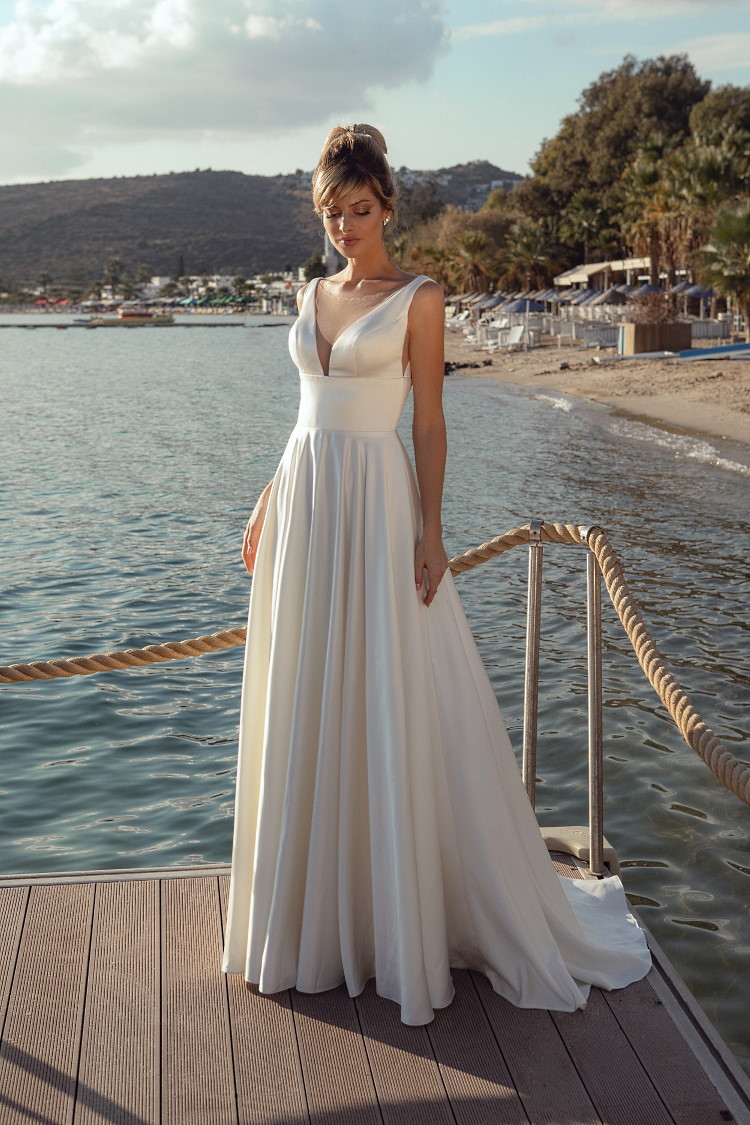 robe de mariee forme empire