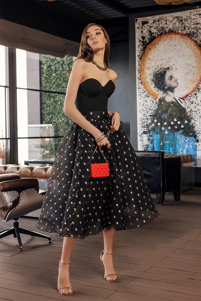 robe de soiree 2 en 1 noire