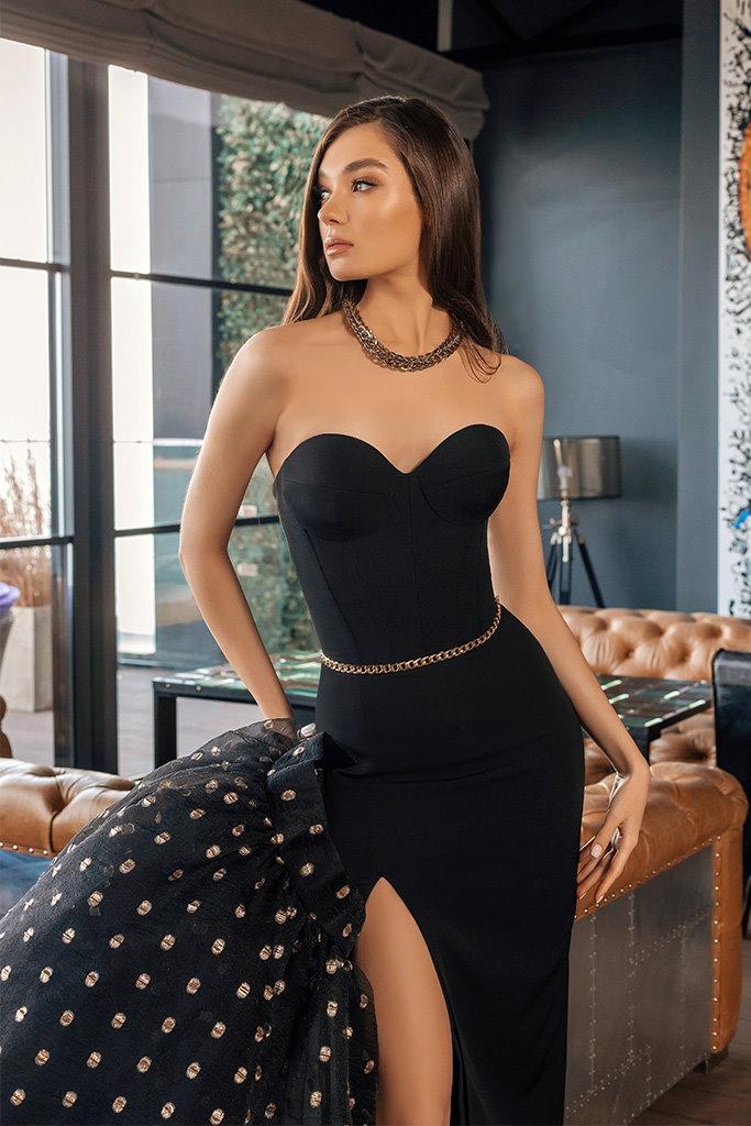 robe de soiree avec surjupe