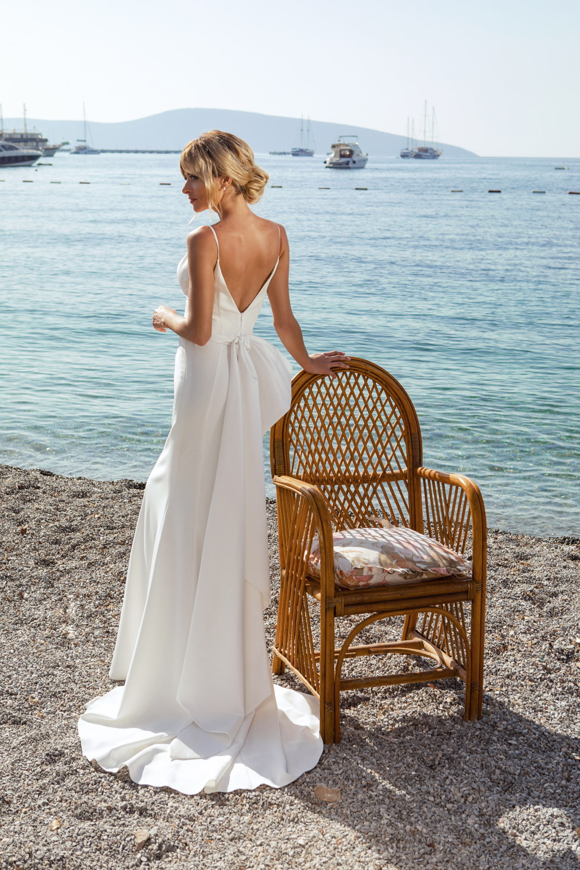 robe de mariee droite