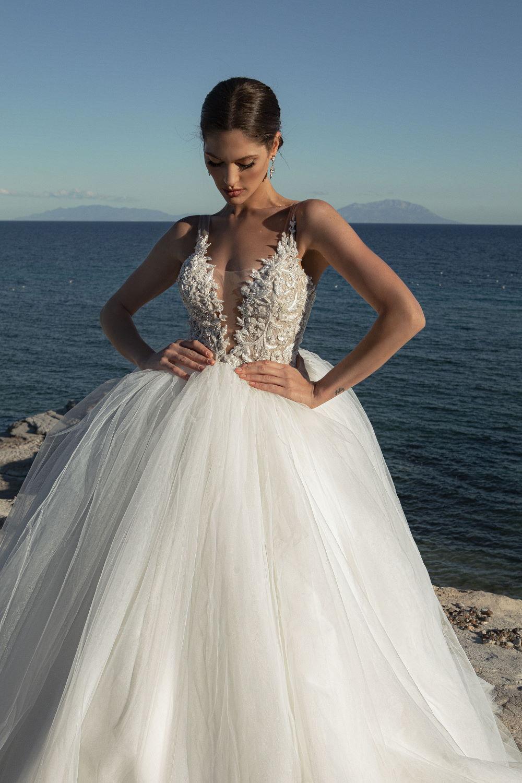 robe de mariee jupe volumineuse