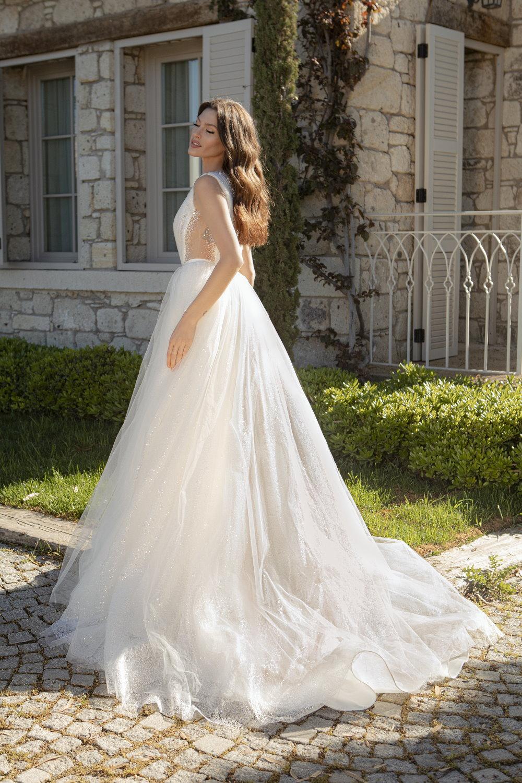 robe de mariee princesse scintillante