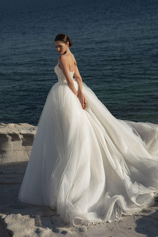robe de mariee tulle de soie