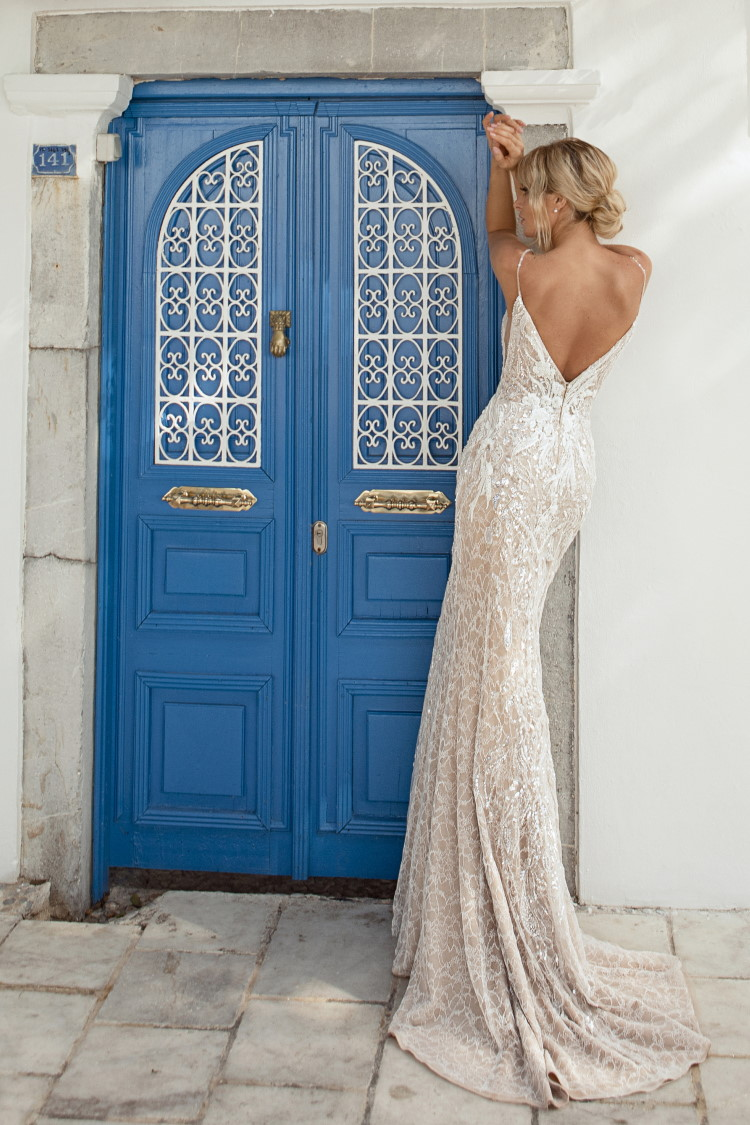 robe de mariee fourreau style annee 20