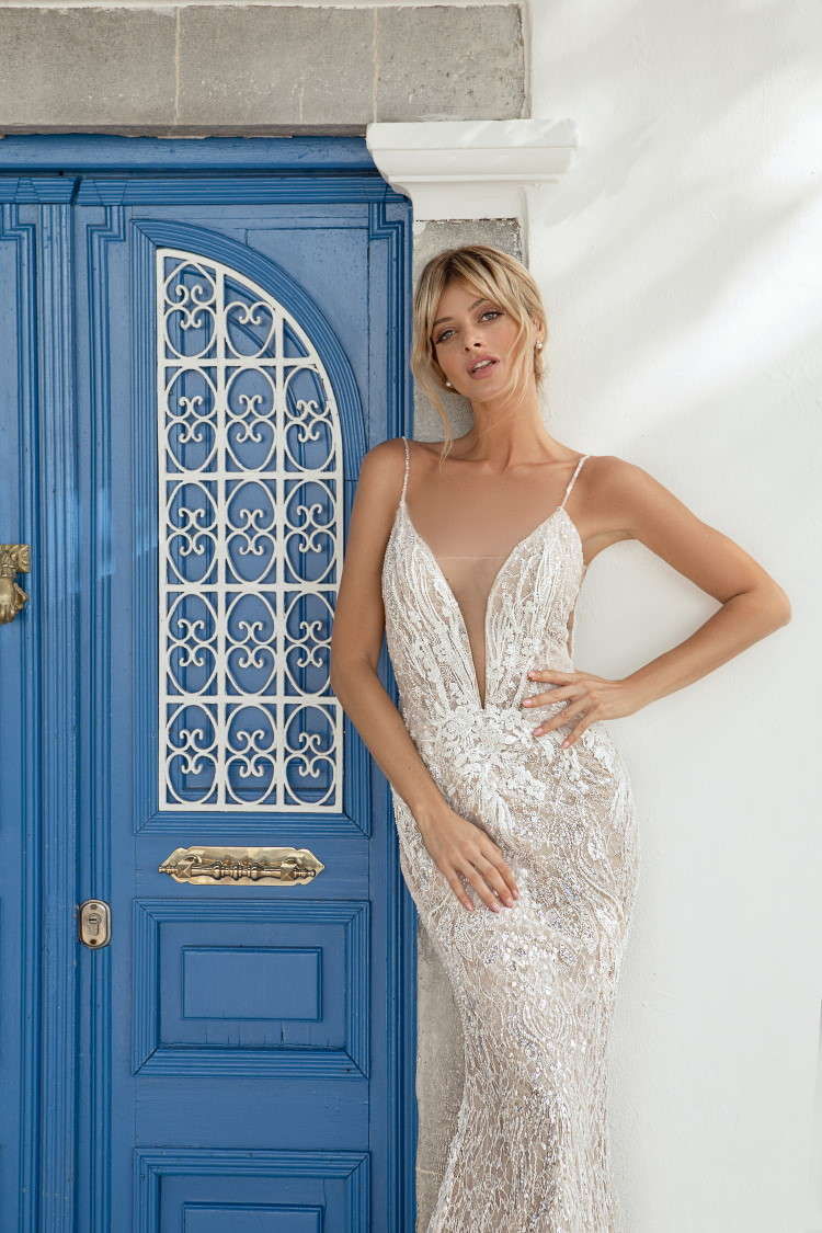 robe de mariee grand decollete