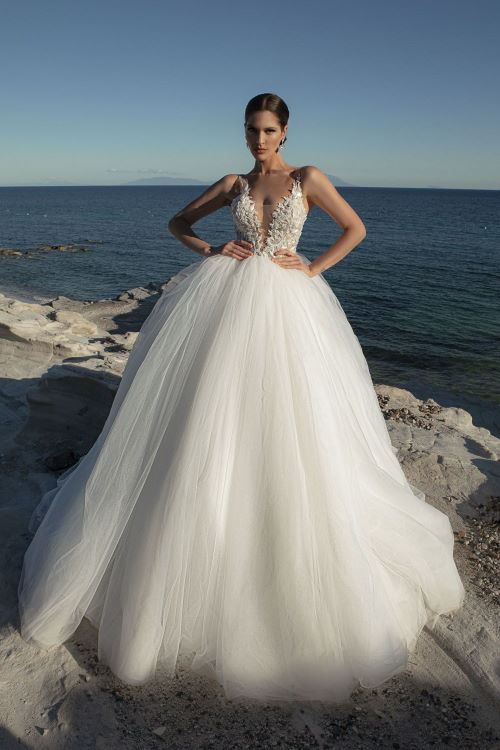 Robe de mariée jupe volumineuse