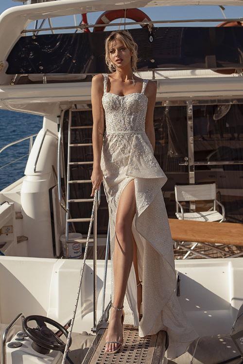 Robe de mariée en glitter